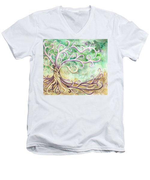 Celtic Culture Men's V-Neck T-Shirt