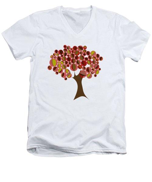 Cherry Tree Men's V-Neck T-Shirt