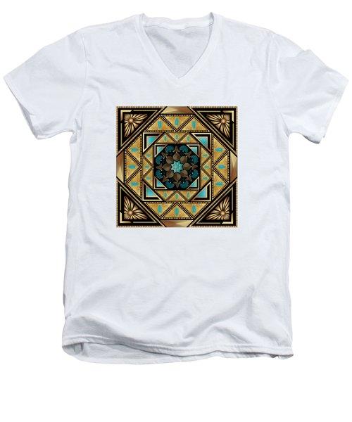 Circumplexical N0 3640 Men's V-Neck T-Shirt