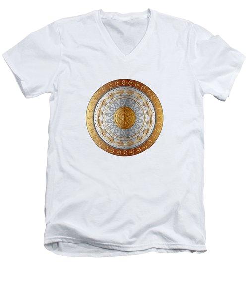 Circumplexical No 3528 Men's V-Neck T-Shirt
