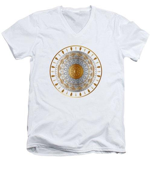 Circumplexical No 3532 Men's V-Neck T-Shirt
