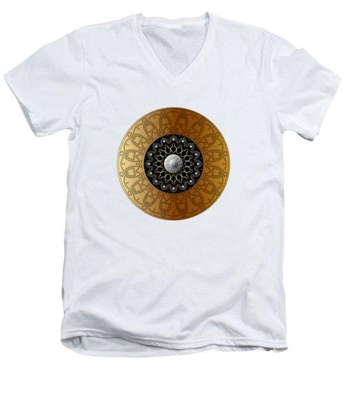 Circumplexical No 3538 Men's V-Neck T-Shirt
