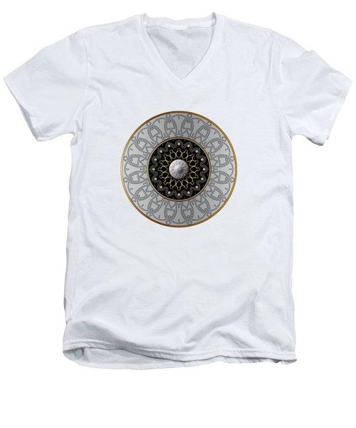 Circumplexical No 3540 Men's V-Neck T-Shirt