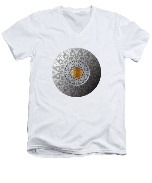 Circumplexical No 3542 Men's V-Neck T-Shirt