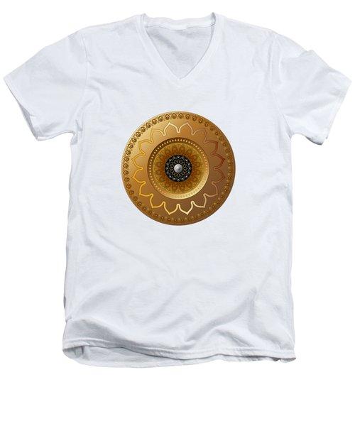 Circumplexical No 3568 Men's V-Neck T-Shirt