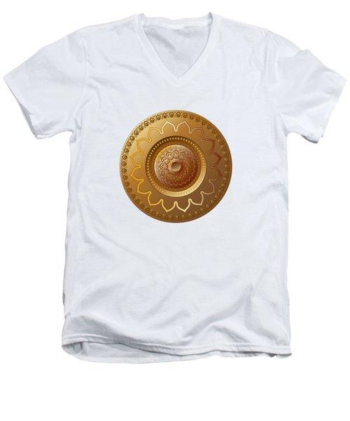 Circumplexical No 3569 Men's V-Neck T-Shirt