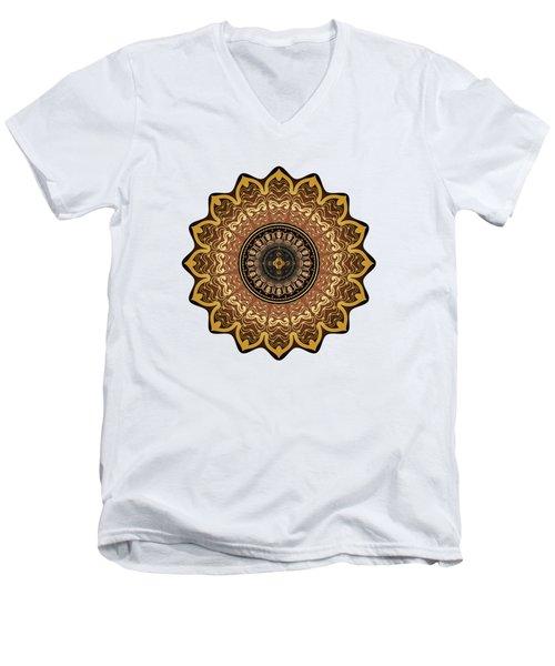 Circumplexical No 3574 Men's V-Neck T-Shirt