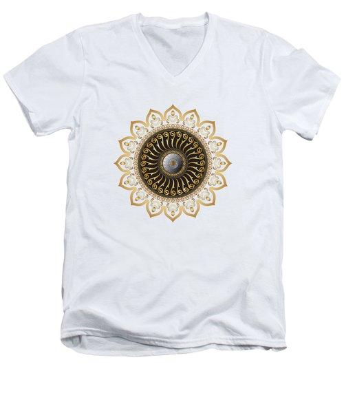 Circumplexical No 3578 Men's V-Neck T-Shirt