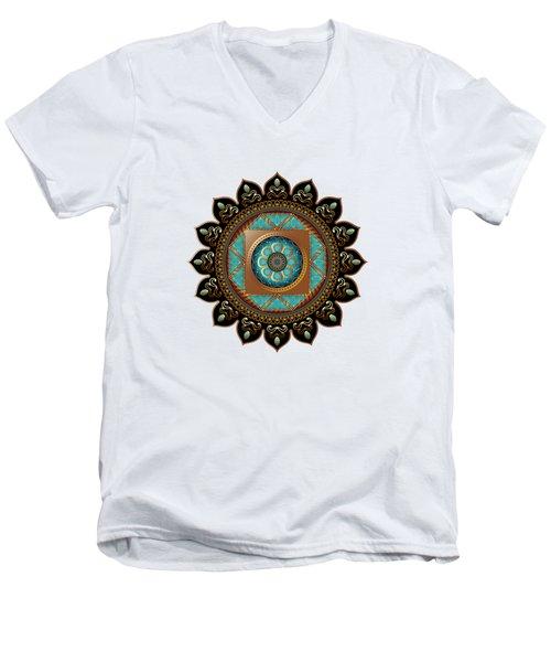 Circumplexical No 3580 Men's V-Neck T-Shirt