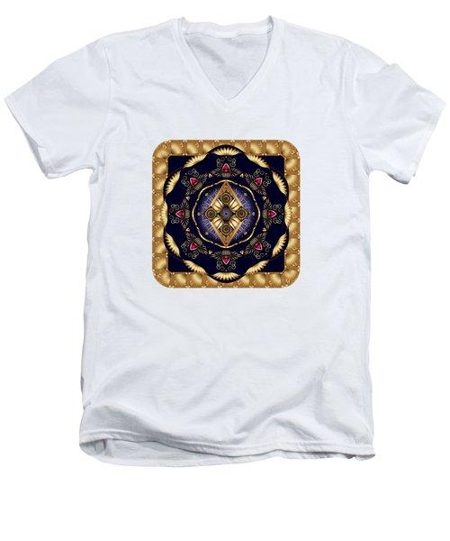 Circumplexical No 3584 Men's V-Neck T-Shirt