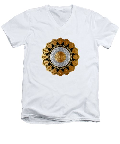 Circumplexical No 3598 Men's V-Neck T-Shirt
