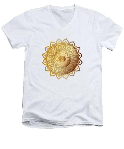 Circumplexical No 3604 Men's V-Neck T-Shirt