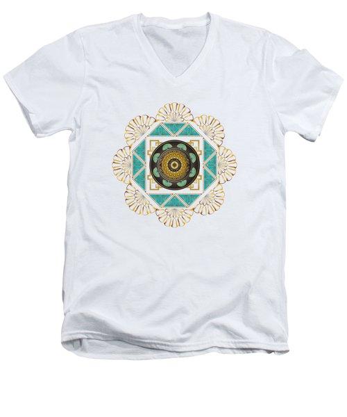 Circumplexical No 3606 Men's V-Neck T-Shirt