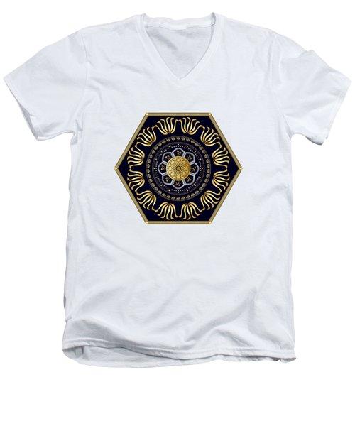 Circumplexical No 3608 Men's V-Neck T-Shirt