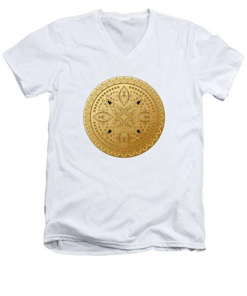 Circumplexical No 3613 Men's V-Neck T-Shirt