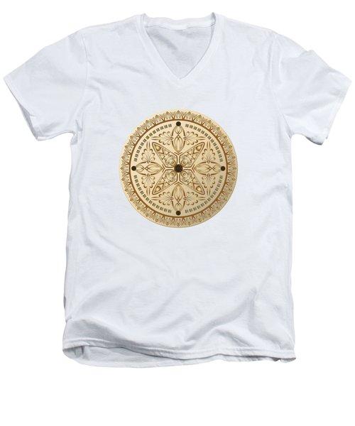 Circumplexical No 3615 Men's V-Neck T-Shirt
