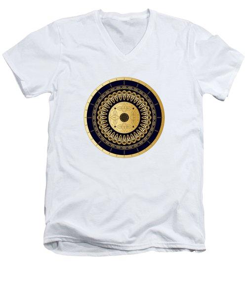 Circumplexical No 3619 Men's V-Neck T-Shirt