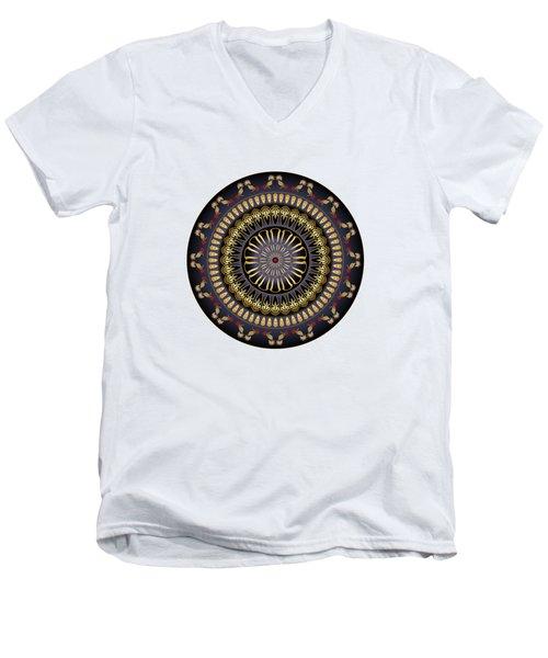 Circumplexical No 3620 Men's V-Neck T-Shirt