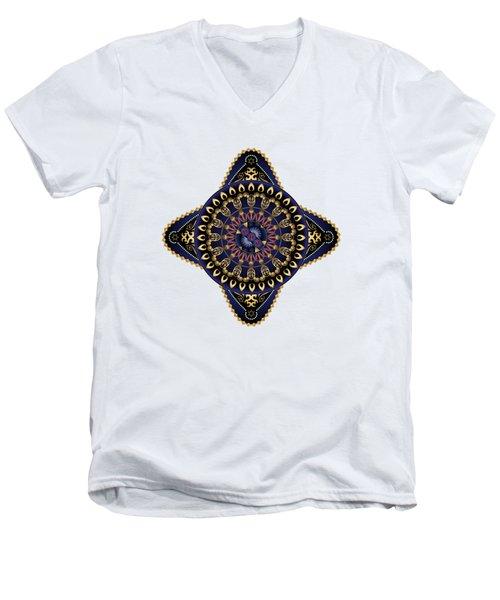Circumplexical No 3622 Men's V-Neck T-Shirt