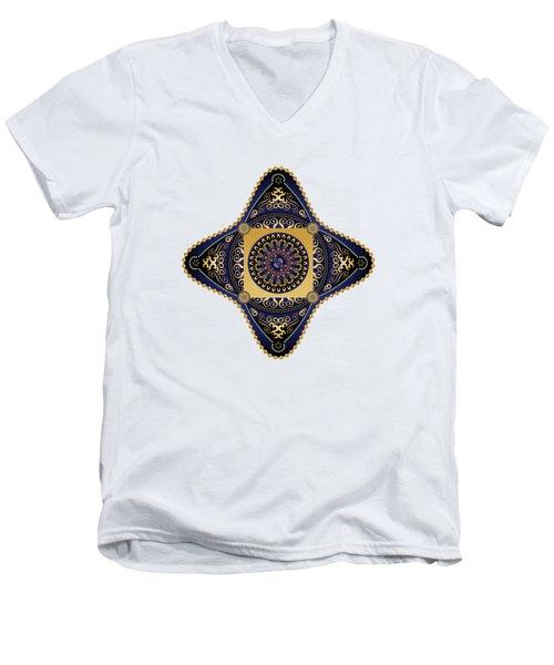 Circumplexical No 3625 Men's V-Neck T-Shirt