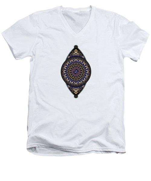Circumplexical No 3627 Men's V-Neck T-Shirt