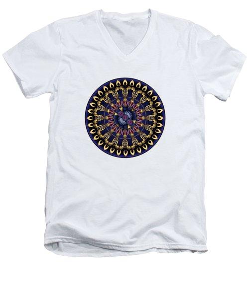 Circumplexical No 3628 Men's V-Neck T-Shirt