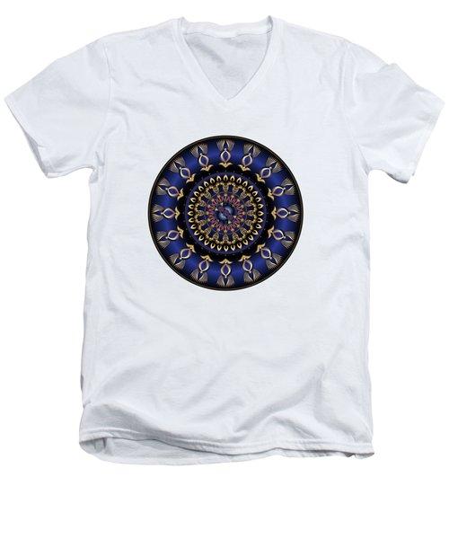 Circumplexical No 3631 Men's V-Neck T-Shirt