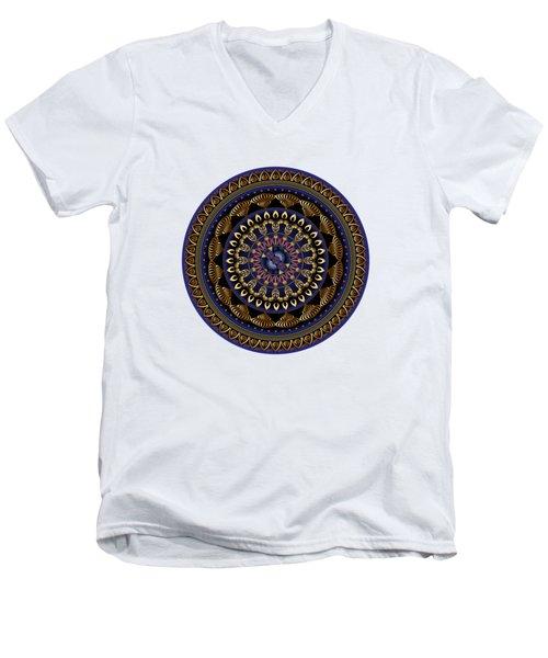 Circumplexical No 3632 Men's V-Neck T-Shirt