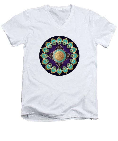 Circumplexical No 3645 Men's V-Neck T-Shirt