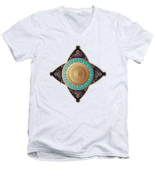 Circumplexical No 3649 Men's V-Neck T-Shirt