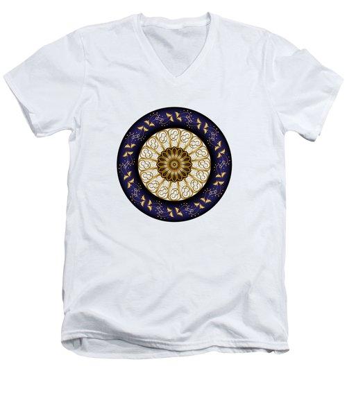 Circumplexical No 3688 Men's V-Neck T-Shirt