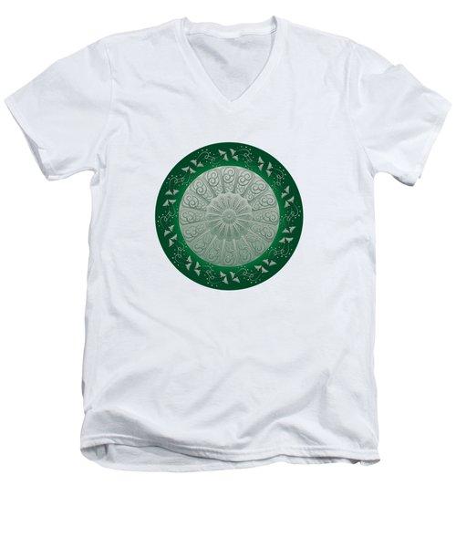 Circumplexical No 3690 Men's V-Neck T-Shirt