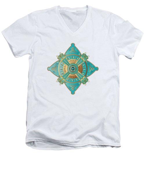 Circumplexical No 3695 Men's V-Neck T-Shirt