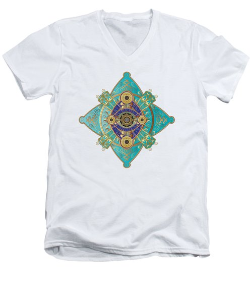 Circumplexical No 3698 Men's V-Neck T-Shirt