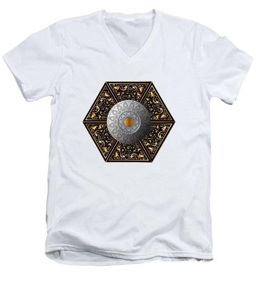Circumplexical No 3854 Men's V-Neck T-Shirt