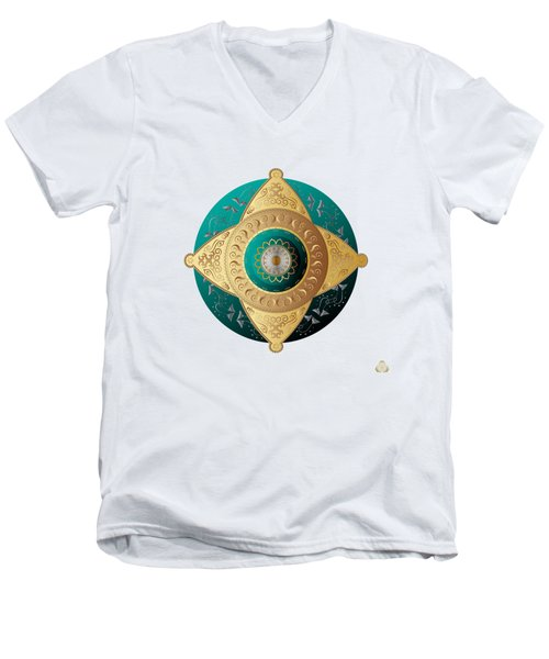 Circumplexical No 4064 Men's V-Neck T-Shirt