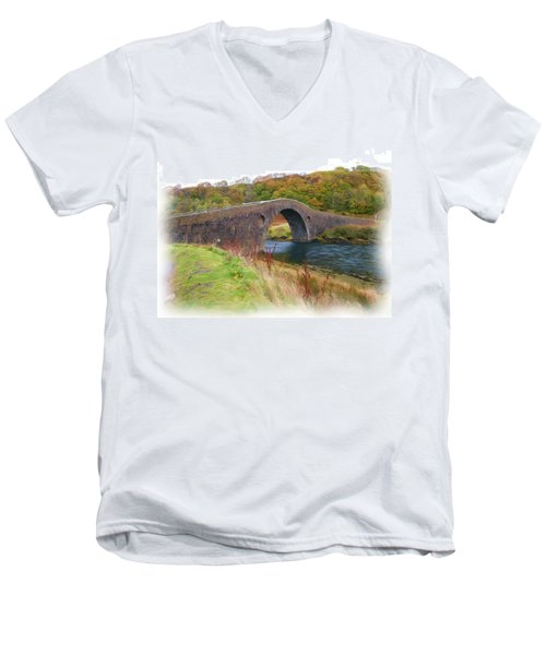 Clach Na Sula Men's V-Neck T-Shirt
