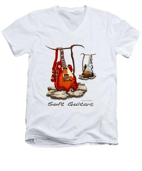 Classic Soft Guitars Men's V-Neck T-Shirt