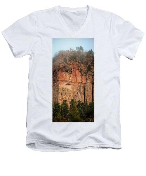 Cliff Face Men's V-Neck T-Shirt