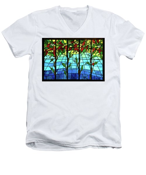 Climbing Vines Men's V-Neck T-Shirt