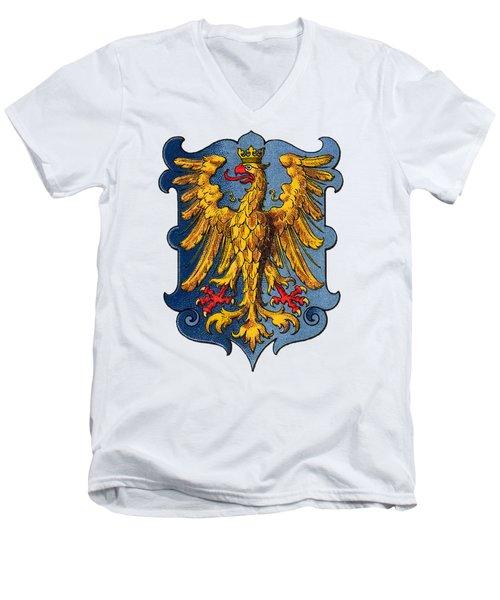 Coat Of Arms Of Friuli  Men's V-Neck T-Shirt