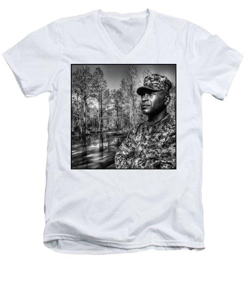 colonel Trimble 2 Men's V-Neck T-Shirt