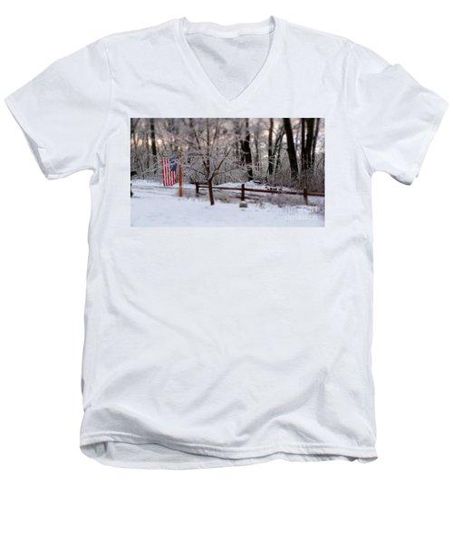 Colors Never Run Men's V-Neck T-Shirt