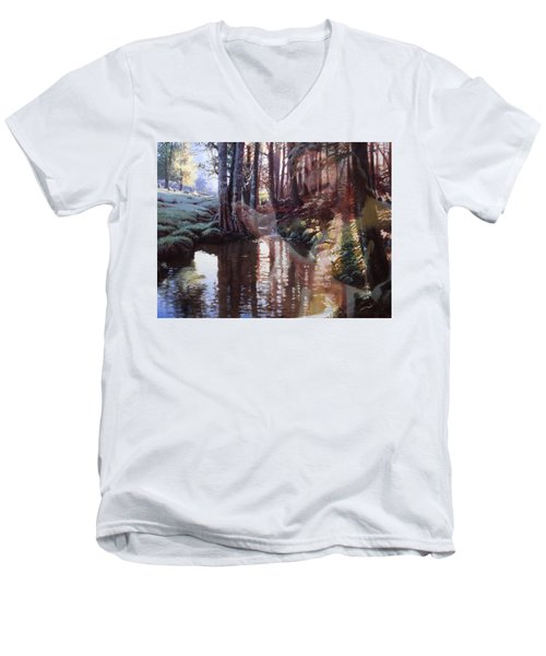 Come, Explore With Me Men's V-Neck T-Shirt