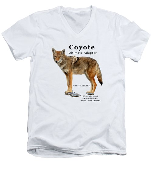 Coyote Ultimate Adaptor Men's V-Neck T-Shirt