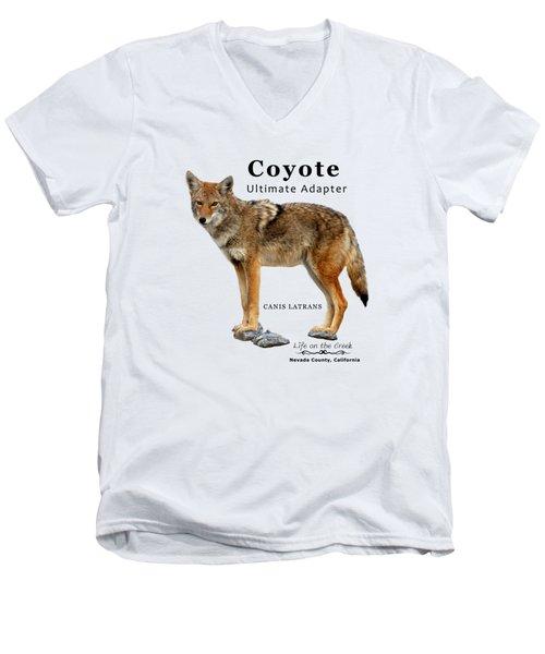 Coyote Ultimate Adaptor Men's V-Neck T-Shirt