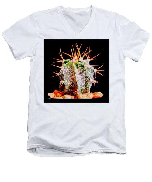 Crazy  Cactus Men's V-Neck T-Shirt