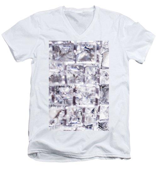Crystal Bling Iv Men's V-Neck T-Shirt