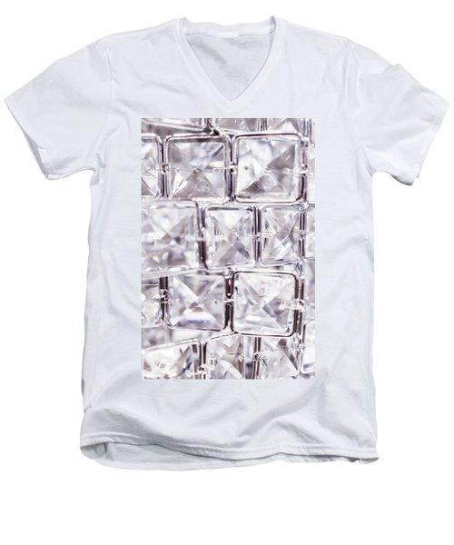 Crystal Bling V Men's V-Neck T-Shirt