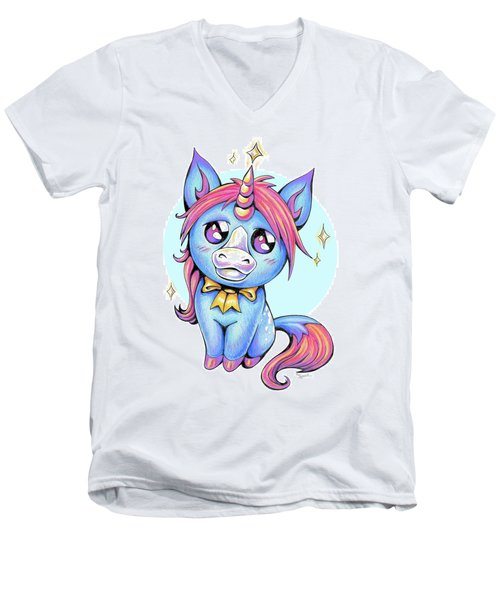 Cute Unicorn I Men's V-Neck T-Shirt